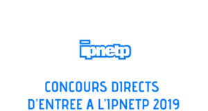 CONCOURS IPNETP 2019