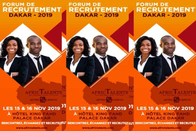 Forum de recrutement Dakar 2019