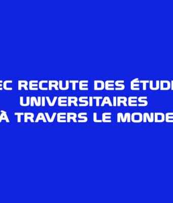 Québec recrute des étudiants universitaires à travers le monde