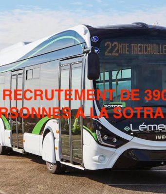 RECRRUTEMENT SOTRA 2020