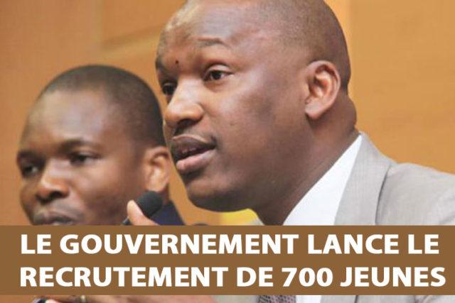 le-gouvernement-lance-le-recrutement-de-700-jeunes
