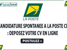 Candidature spontanée : Postulez à La POSTE de Côte D'ivoire