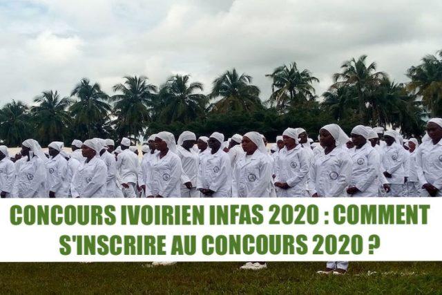 S'INSCRIRE INFAS 2020