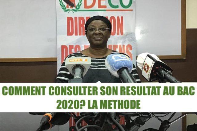 BAC 2020 RESULTAT